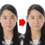 "<span class=""title"">口角上げ加工が無料に!? 板橋区で受験用、学生証用、履歴書、マイナンバー、中国のパスポート用の証明写真など、キレイに安く撮るならカリノカラーへ! & コロナ感染防止対策について</span>"